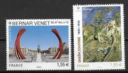 France 2013 N° 4716 - 4723 Neufs Série Artistique à La Faciale - France