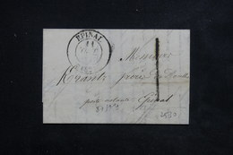 FRANCE - Lettre De Épinal En Port Local - L 22479 - 1801-1848: Précurseurs XIX