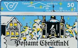ÖSTERREICH Schalter Telefonkarte - ANK 42 - Christkindl- 210 C - Auflage 25000 - Siehe Scan -10813 - Oesterreich