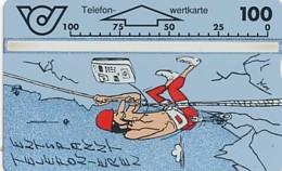 ÖSTERREICH Schalter Telefonkarte - ANK 43 - Bergsteiger- 210 D - Auflage 100 000 - Siehe Scan -10814 - Oesterreich