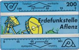ÖSTERREICH Schalter Telefonkarte - ANK 44 - Erdfunkstelle Aflenz- 211 A - Auflage 50 000 - Siehe Scan -10815 - Oesterreich