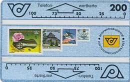 ÖSTERREICH Schalter Telefonkarte - ANK 45 - Briefmarkensammeln- 211 A - Auflage 50 000 - Siehe Scan -10816 - Oesterreich