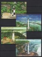 Sri Lanka (2018) - 4 Blocks -  /  Leuchtturm - Faro - Phares - Lighthouses - Phares