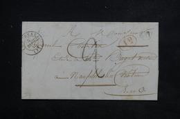 FRANCE - Lettre De Le Perray Pour Nauphle Le Château En 1845 - L 22480 - 1801-1848: Precursors XIX