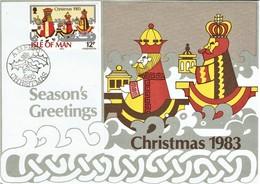 Insel Man / Ile Of Man - Maxicard (r280) - Weihnachten