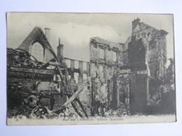 CPA (51) Marne - Incendie Et Bombardement De REIMS - Rue Des 3 Raisinets, Maison Margotin - Reims