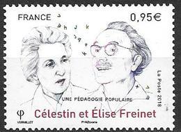 France 2018 Célestin Et Elise Freinet Neuf Série Artistique à La Faciale +10% - France