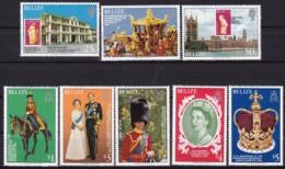 Belica, 1979, 409/16 A, 25. Jahrestag Der Krönung Von Königin Elisabeth II.. MNH ** - Belize (1973-...)