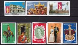 Belica, 1979, 409/16 B, 25. Jahrestag Der Krönung Von Königin Elisabeth II.. MNH ** - Belize (1973-...)