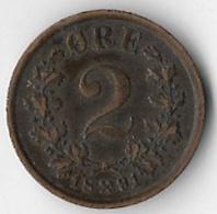 Norway 1891 2 øre [C315/1D] - Norway
