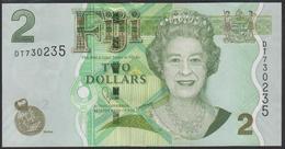 Fiji 2 Dollar 2011 P109b UNC - Fiji