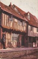 """Hastings Old Houses. All Sant Street"" Tuck Oilette Posttcard # 7138 - Tuck, Raphael"