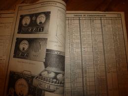 Rare Document Technique LAMPES RADIO Et RADIO CONTRÔLE  ,Rue Boileau - LYON (Corresp.,Brochage,Rempl.,Norme,Classt;etc - Littérature & Schémas