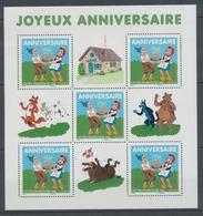 2007  France  BLOC FEUILLET  N°112, Anniversaires YB112 - Blocs & Feuillets