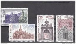 España Nº 3146 Al 3149 - 1931-Hoy: 2ª República - ... Juan Carlos I