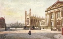 """King's College. King's Parade.Cambridge"" Tuck Oilette Posttcard # 7150 - Tuck, Raphael"
