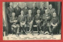 CPA 76 THEMES - POLITIQUE - Les Candidats De La Liste Républicaine De Gauche 1924 - Partis Politiques & élections