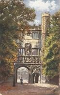"""Trinity College. King's Gate.Cambridge"" Tuck Oilette Posttcard # 7150 - Tuck, Raphael"