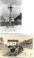 1940/44 - DUBROVYTSIA Dombrowitza  Okres RIVNE , 2 Orginal Foto 10X7cm. - Ukraine