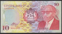Lesotho 10 Maloti 1990 P11 UNC - Lesoto