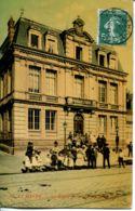 N°69884 -cpa Le Havre -la Mairie De Graville- - Graville
