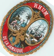 Ancienne Étiquette A3 LIQUEUR RHUM DE JAMAIQUE - Rhum
