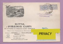 Lettera Spedita 1944, Affrancata Con 30 Cent. Per Pacchi. -SP7 - 1900-44 Victor Emmanuel III