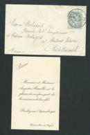 Faire Part De La Naissance De Pierre Rouillé à Barbezieux Le 5/09/1906   Lp30707 - Nacimiento & Bautizo