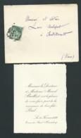 Faire Part De La Naissance De   Paul Bailliot à Tours , Le 21/02/1899   Lp30709 - Naissance & Baptême