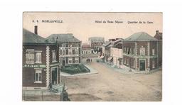 Morlanwelz Quartier De La Gare En Couleur - Morlanwelz