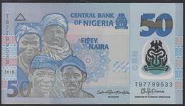 Nigeria 50 Naira 2018 P40h UNC - Nigeria