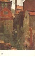 """Frank Emanuel. Old Street. Whitby Tuck Art Quaint Corners Series PC # 1173 - Tuck, Raphael"