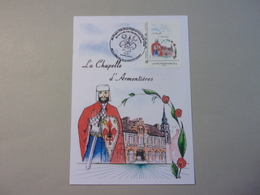 Carte Postale La Chapelle D'Armentières, Géant Du Courtembus, Dessin Alain Vandenhende - Carnaval