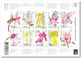 Nederland 2014, Postfris MNH, NVPH 3175-3184, Flowers, Orchids - Period 2013-... (Willem-Alexander)