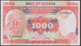 Uganda 1000 Shillings 1986 P26 UNC - Uganda