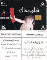 EGYPT - Little Girl, Telecom Egypt Telecard 5 L.E., CN : G204, Chip GEM3.1, Used - Egypt