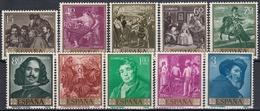 ESPAÑA 1959 Nº 1238/1247 NUEVO PERFECTO - 1951-60 Neufs
