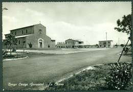 CARTOLINA - CV1736 BORGO CARIGE (Grosseto GR) La Chiesa, FG, Viaggiata 1962, Ottime Condizioni - Grosseto