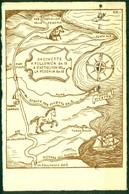 CARTOLINA - CV1744 TORRE CIVETTE (Grosseto GR) Bella Mappa Disegnata Della Zona, FG, Viaggiata 1955, Ottime Condizioni - Grosseto