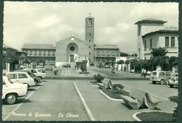CARTOLINA - CV1749 MARINA DI GROSSETO (GR) La Chiesa, FG, Viaggiata 1963, Ottime Condizioni - Grosseto