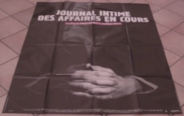 AFFICHE CINEMA ORIGINALE FILM JOURNAL INTIME DES AFFAIRES EN COURS HAREL ROBERT Documentaire 1998 - Affiches & Posters