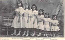 FAMILLES ROYALES Royal Families ( LUXEMBOURG ) Les Six Princesses - CPA - Königliche Familien / Koninklijke Families - Familles Royales