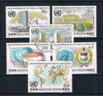 Ungarn 1980 UNO Mi.Nr. 3461/66 Kpl. Satz Gest. - Hungary