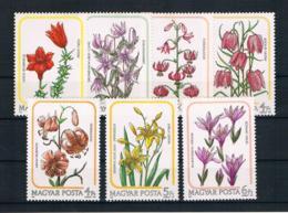 Ungarn 1985 Blumen Mi.Nr. 3788/94 Kpl. Satz ** - Ungebraucht