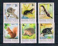 Ungarn 1986 Tiere Mi.Nr. 3860/65 Kpl. Satz ** - Ungebraucht