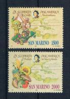 San Marino 1990 Kolumbus Mi.Nr. 1456/57 Kpl. Satz ** - San Marino