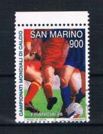 San Marino 1998 Fußball Mi.Nr. 1780 Gestempelt - San Marino