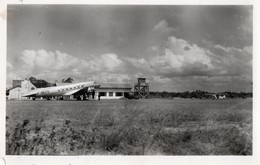 PORT-BOUET - Abidjan - Aérodrome Avec Ciel De Tornade - Côte-d'Ivoire
