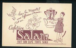 BUVARD:  CAFETIÈRE SALLAM Fait Son Café Toute Seule - Café & Thé