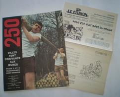 Revue Scout Avec Son Supplément Le Fanion , Le Journal Des Chefs De Patrouille , Mai 1963 N° 6 - Religion